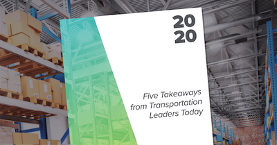 Report - Five Takeaways from Transportation Leaders Today